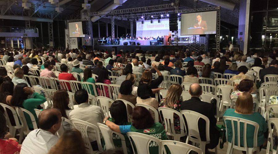 Celebração reúne batistas de todo o Brasil